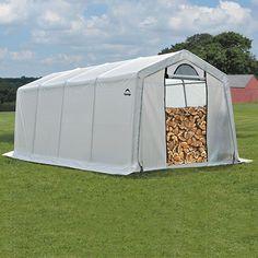 90397 Firewood Storage 10' X 20' X 8' (seasoning Shed)