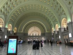 Union Station Washington D.C . Opened in 1907 it is Amtrak's headquarters and the railroad's second-busiest station with annual ridership of just under 5 millio [4032  3024] [oc] #diyhomedecor