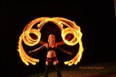 Fire Fans - fire gypsy