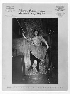 Alphonse Bertillon, Assassinat de madame Langlois, affaire de Puteaux, le 5 avril 1905, Préfecture de police de Paris, Service de l'Identité judiciaire.