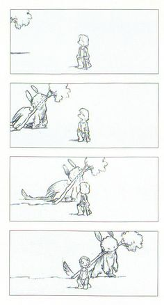 How To Train Your Dragon Storyboard By Chris Sanders  Animation