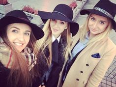 Dandy Lady x3 #ladies #meeting #warsaw #polishgirls #dandylady #elegant #hat #thebest #fashion #lovers #great #time #smiling #dandy #women #outfit #look #style #blogger #new #relationships