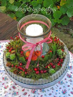 Sehr schöne Deko Idee: Betonkuchen *