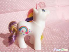 "G1 My Little Pony ""Baby Starbow""    Generation1 Year9(1990-1991)Rainbow Baby Pony Series  ""Baby Starbow"""