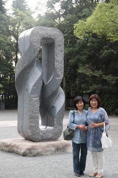 Keizo Ushio solo show Himeji GokokuJinjya Shrine