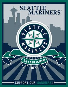 The baseball team I was raised watching and became an instant fan! Back in the days of Ken Griffey Jr. and Sr., Edgar Martinez, and my favorite coach: Lou Pinella!