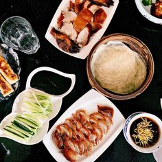 Savor the flavor, then have another slice. 😋 We only have 20 peking ducks daily - call to reserve your table-side prepped duck this weekend! Clement Street, Inner Richmond 🕒 all weekend 📷 ff. Best Chinese Food, Peking Duck, Ducks, Chili, Street, Table, Chile, Tables, Chilis
