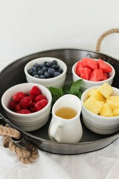 Fruit Salad - Eat a Delicious Fruit-Based Breakfast to  Feel Great All Day ... [ more at http://food.allwomenstalk.com ] Fruit salad is so simple that you may not even think of it in the mornings. Fruit salad is the perfect breakfast for your mornings with a little bit of time, but not enough to prepare a full meal. Rather than reach for the sugary cereals, cut up some fruit! You'll feel so much better all day!... #Food #Peanut #Breakfast #Butter #Favorite #Heavy