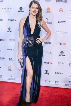Agatha Moreira attends the 44th International Emmy Awards at New York  Hilton on November 21 2016 4d67709a51a