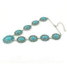 Jianxi Geometric Turquoise Statement Mosaic Ethnic Handmade Necklace Women Fashion Jewelry Gift http://stylexotic.com/jianxi-geometric-turquoise-statement-mosaic-ethnic-handmade-necklace-women-fashion-jewelry-gift/