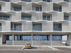 Image result for apartment balconies architectural ideas Facade Architecture, Residential Architecture, Apartment Balconies, Hotel Apartment, Apartment Kitchen, Fasade Design, Building Skin, Building Facade, Dormitory