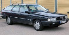Audi 100 Avant TDI front – 1990
