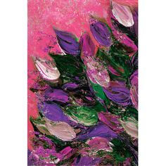 East Urban Home Blooming Beautiful IV Painting Print on Wrapped Canvas Size: