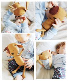 Dog Sewing Pattern Puppy Softie Plush Toy Cloth Doll Pattern PDF. $10.00, via Etsy.