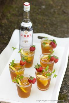 Wimbledonin kunniaksi: Kesäinen Pimm's-cocktail