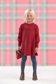 Dagens gratisoppskrift: Marivoll kjole | Strikkeoppskrift.com