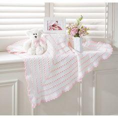 Mary Maxim - Sweet Grandbaby Blanket - Baby