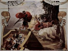The companions of Odysseus steal cattle of Helios, Tibaldi Pellegrino