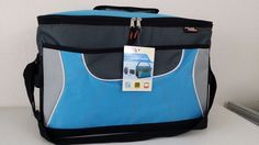 NWT POLAR PACK Insulated Collapsible 48 Can Flip Top Cooler Blue/Gray Lunch Bag #PolarPack #ebay #PolarPack #CoolerBag