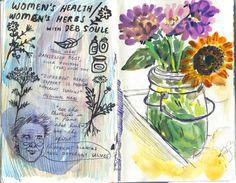 From my late summer sketchbook Phoebe Wahl 2013