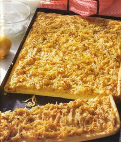 German Onion Tart • Original and Authentic German Recipes