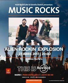 Alien Rockin' Explosion (A.R.E) es mucho más que un grupo de rock al uso, es la fusión perfecta entre el mundo del cómic y el hard rock de los setenta.