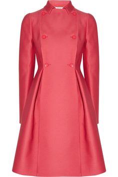 Valentino Wool and silk-radzimir coat