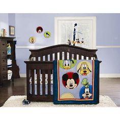 Mickey Mouse Nursery Bedding and Decor - bedtimebaby.com