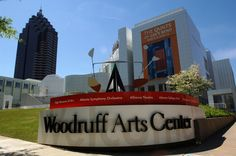 #Woodruff Arts Center is a major visual and performing arts center located in Atlanta.