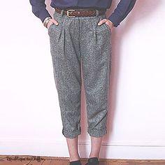 Pantalon GILBERT pattern by Republique du Chiffon