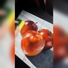 Varnishing of Apples Oil PAinting on Canvas - my Original Art. You can purchase it in my Etsy shop (RuslanKorosArt) Oil Painting For Beginners, Oil Painting Techniques, Painting Tips, Art Techniques, Apple Painting, Fruit Painting, Seascape Paintings, Oil Painting Abstract, Oil Paintings