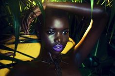 Khoudia Diop Charcoal Black African Model Who Doesn't Believe In Bleaching - Celebrities (6) - Nigeria