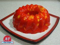 gelatina de mango con chamoy - YouTube