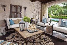 Merilane Avenue Residence 2 Outdoor Space 2 - mediterranean - patio - minneapolis - Martha O'Hara Interiors
