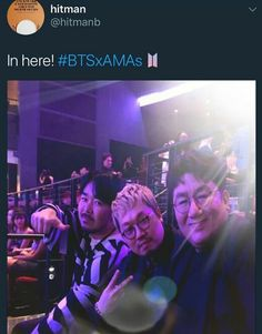 The Bighit family supporting BTS!