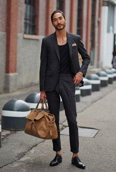laid-back tailoring in Milan