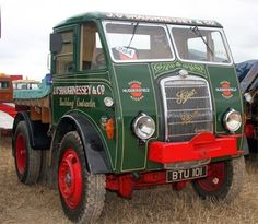 - FODEN EDWIN SONS AND CO LIMITED - 1887 - 2006 -      - RACHAT PAR PACCAR EN 1980 -          T... Commercial Van, Commercial Vehicle, Vintage Trucks, Old Trucks, Classic Trucks, Classic Cars, Green Motorcycle, Automobile, Cab Over