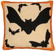 Bats Decorative Pillow