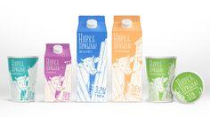 Разработка нового молочного бренда Нюрка Пришла - VIEWPOINT – брендинговое агентство