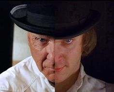 Malcolm McDowell then & now.