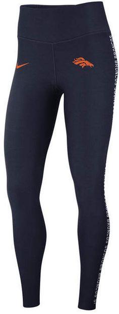 Nike Women s Denver Broncos Core Power Tight Leggings Men - Sports Fan Shop  By Lids - Macy s 3d0233794