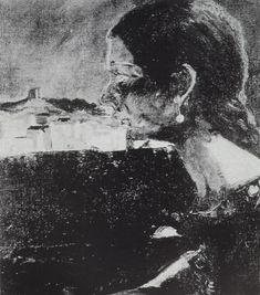 My Cousin Montserrat, 1919-1920  Salvador Dali