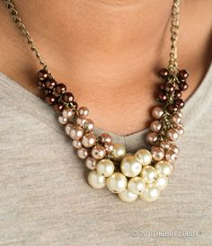 Want to rethink the classic string of pearls? Try incorporating a variety of textures and finishes into your design!