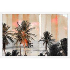 Bahia 18 x 12 In. Framed Painting Print