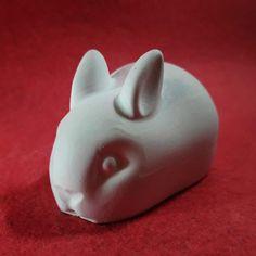 FIGURINA - IEPURE PUI 02 Piggy Bank, Maya, Figurine, Money Box, Money Bank, Maya Civilization, Savings Jar
