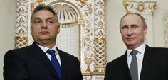 Hungary Is Helping Putin Keep His Chokehold on Europe's Energy A key NATO ally is cozying up to the Russian dictator and trying to help him build a $70 billion pipeline to extend his reach into the heart of the EU.