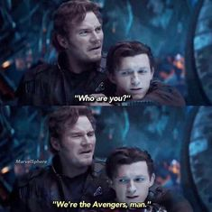 peter finally gets to say that.... its such a relief....then stark loses him its so damn frustrating