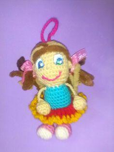 Muñeca a crochet