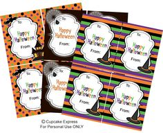 FREE Printable Halloween Gift Tags  sc 1 st  Pinterest & 11 Best Printable Halloween Gift Tags images | Holidays halloween ...