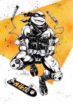 Mikey • Teenage Mutant Ninja Turtles